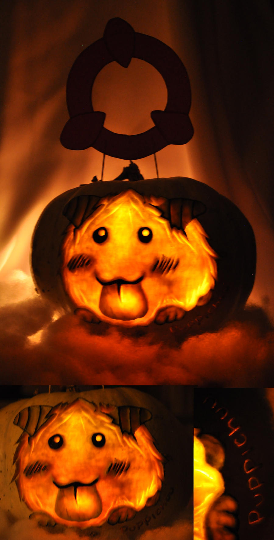 Poro Pumpkin by puppichu