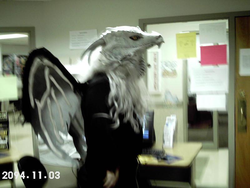 Halloween '07: Profile shot