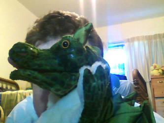 Chibi Dragon puppet