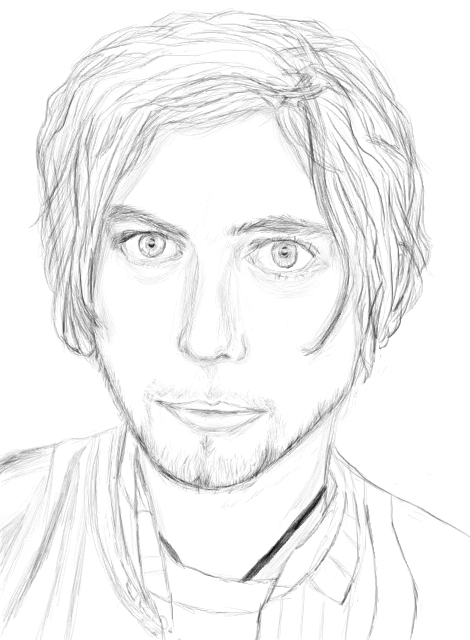 Jackson Rathbone Portrait by Hokumei