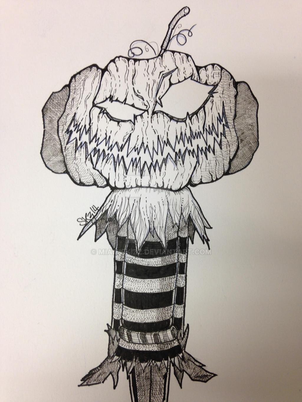 Evil PumpKing by miamiskizz