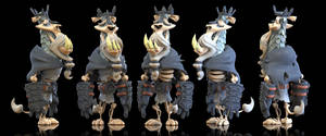 King Ryan 3D (Final) by Baron-Von-Jello