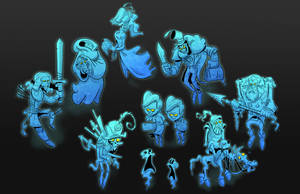 Ghastly Ghouls by Baron-Von-Jello