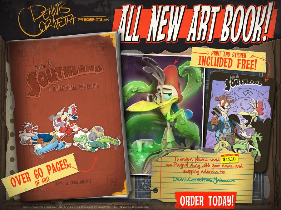 All New Art Book! by Baron-Von-Jello