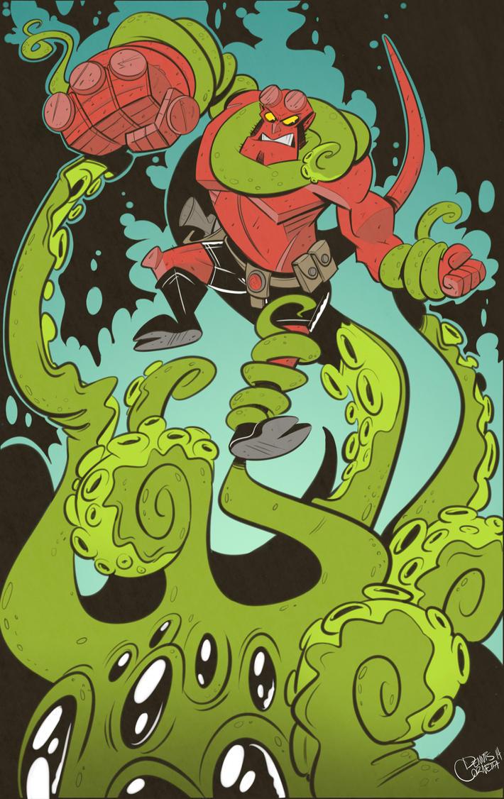 Happy Birthday Hellboy! by Baron-Von-Jello