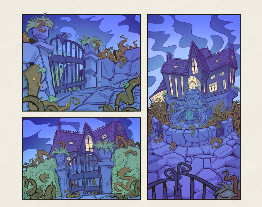 Black Water Manor (Revisited) by Baron-Von-Jello