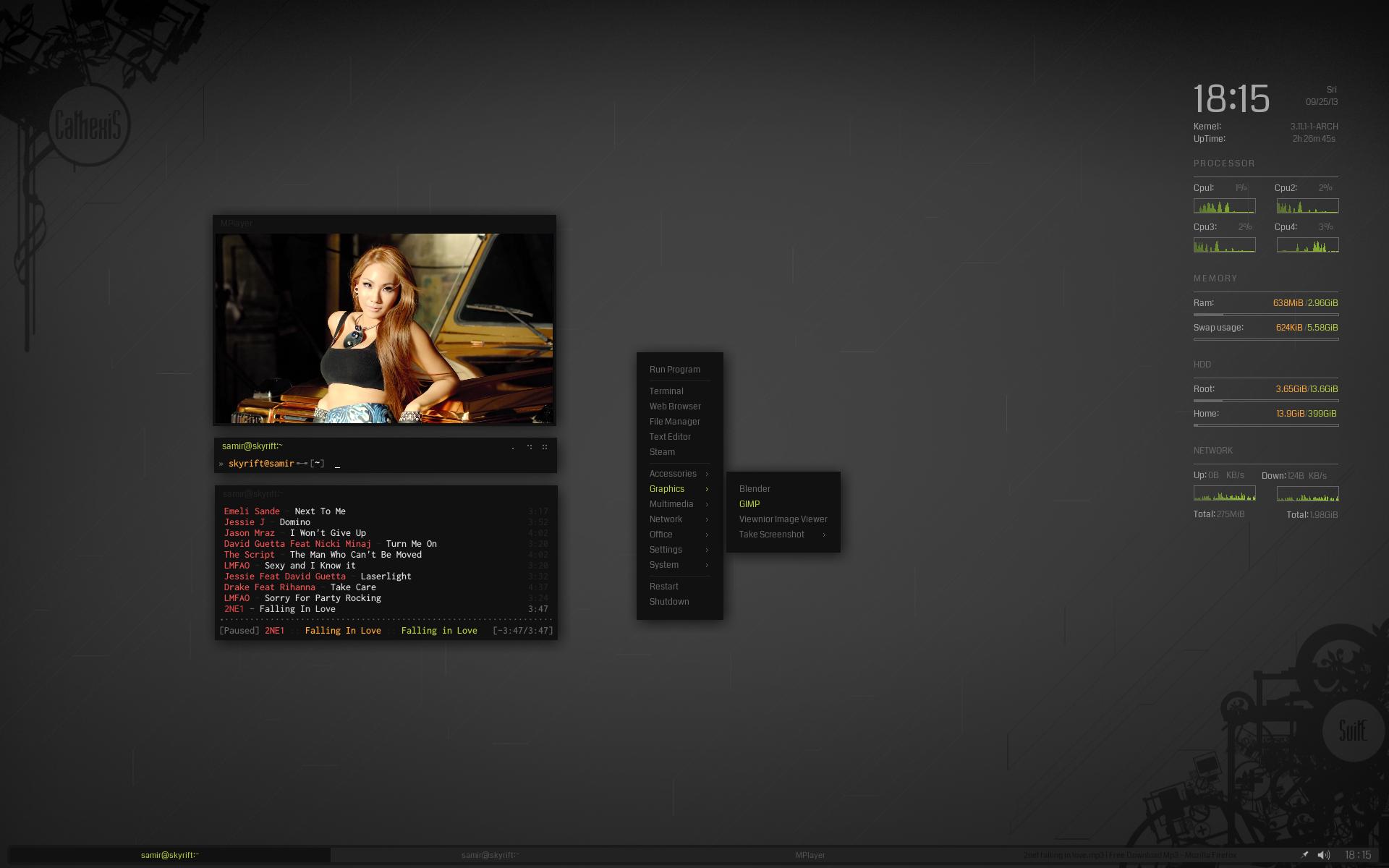 CathexiS Desktop by samirkahvedzic