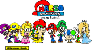 Mario Scenarios - The Main Cast