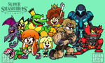 Super Smash Brothers Ultimate Newcomers