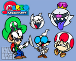 Mario Scenarios - Luigi's Mansion Concept
