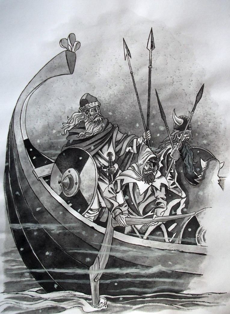 Fantasy vikings by amelianvs on deviantart - Dessin de viking ...