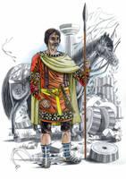 Visigothic nobleman of 5th century by AMELIANVS