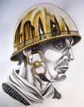 Gallic wars legionary helmet
