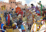Belisarius under the walls of Rome