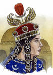 Boran/Pourandokht-queen of the Sassanid Persia.