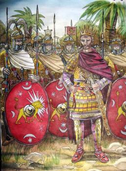 Sketch:Aurelianus and the Praetorian guard