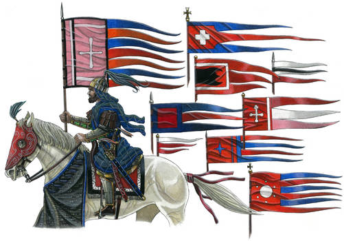 Flags of Medieaval Roman Empire 1