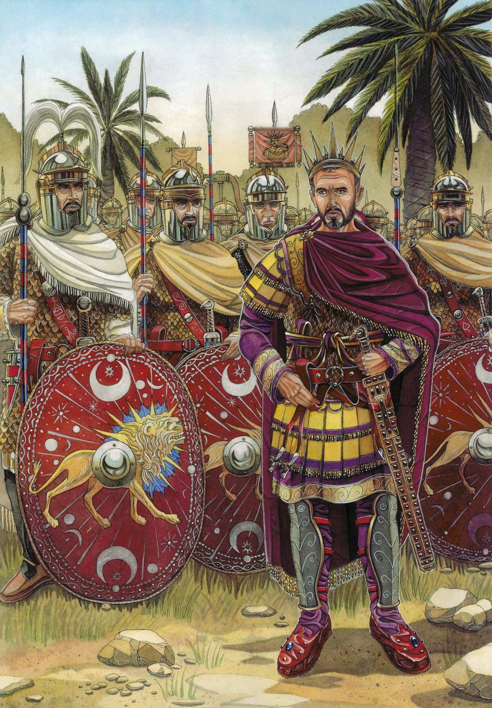 Aurelianus and the Praetorian guard by AMELIANVS