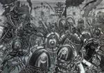 Battle before Palmyrene Gate of Dura Europos