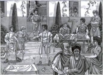 Valetudinarium (Roman military hospital)of Musov by AMELIANVS