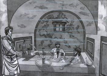 Musov military camp baths by AMELIANVS