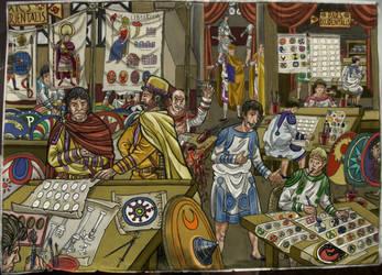 Notitia Dignitatum by AMELIANVS