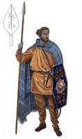 Marcomanni tribesman