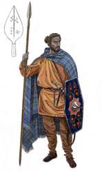 Marcomanni tribesman by AMELIANVS