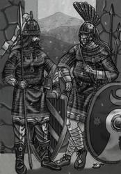 Guarding the Caspian gates