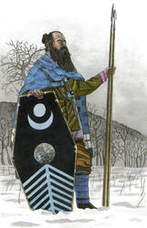 Marcomannic tribesman late 2nd century