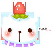 Strawberry Bear by hushrain