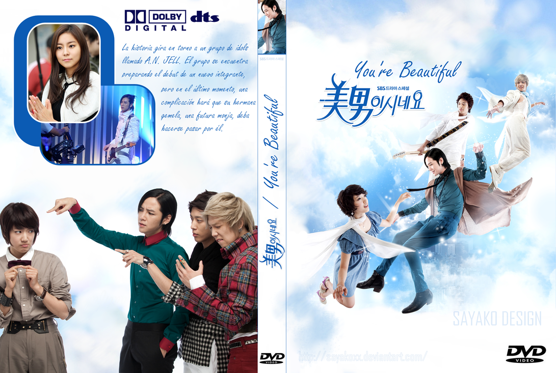 You're Beautiful DVD Cover by SayakoxX on DeviantArt