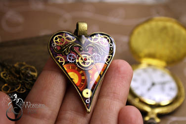 Mechanical heart #2 by Wonder-fox