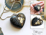 Black Mechanical Heart