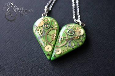 Half Heart Necklace by Wonder-fox