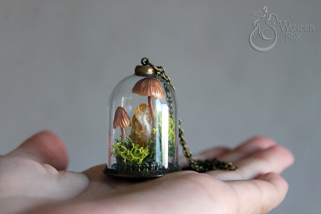Mushrooms :) by Wonder-fox