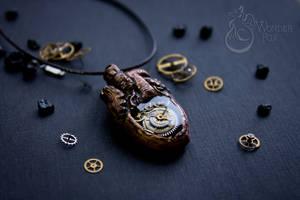 Steampunk Anatomical Heart by Wonder-fox