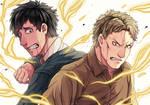 [Fanart] Shingeki no Kyojin - Reiner and Bertholdt