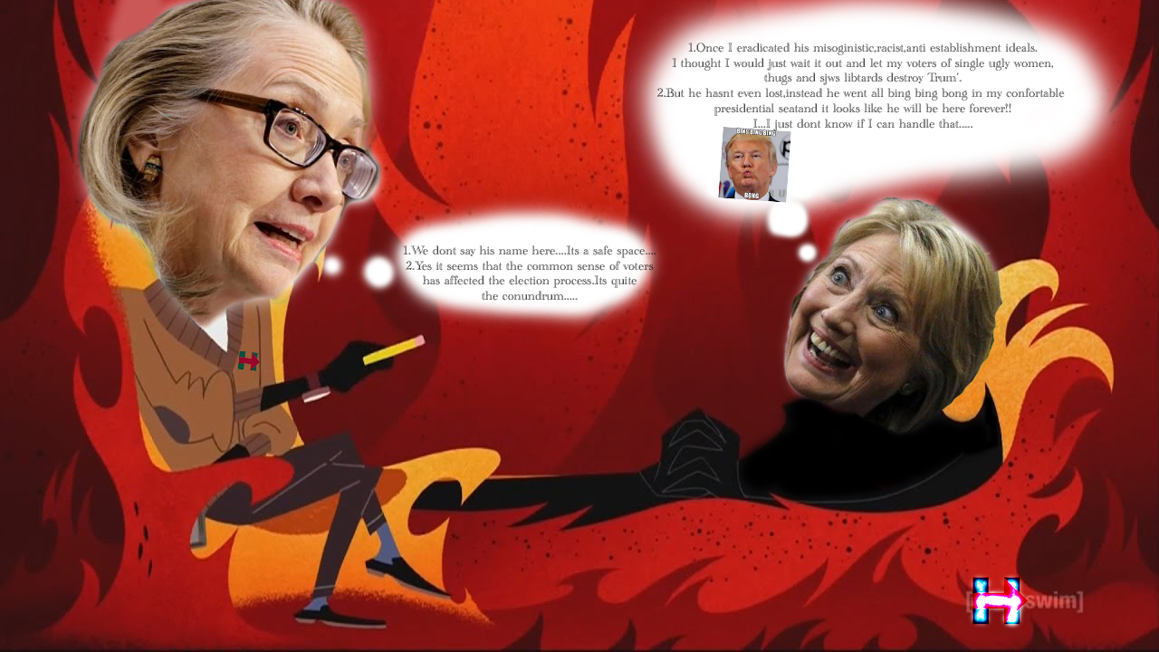 Hillary Self Therapy (Aku Style) by Trimondius01