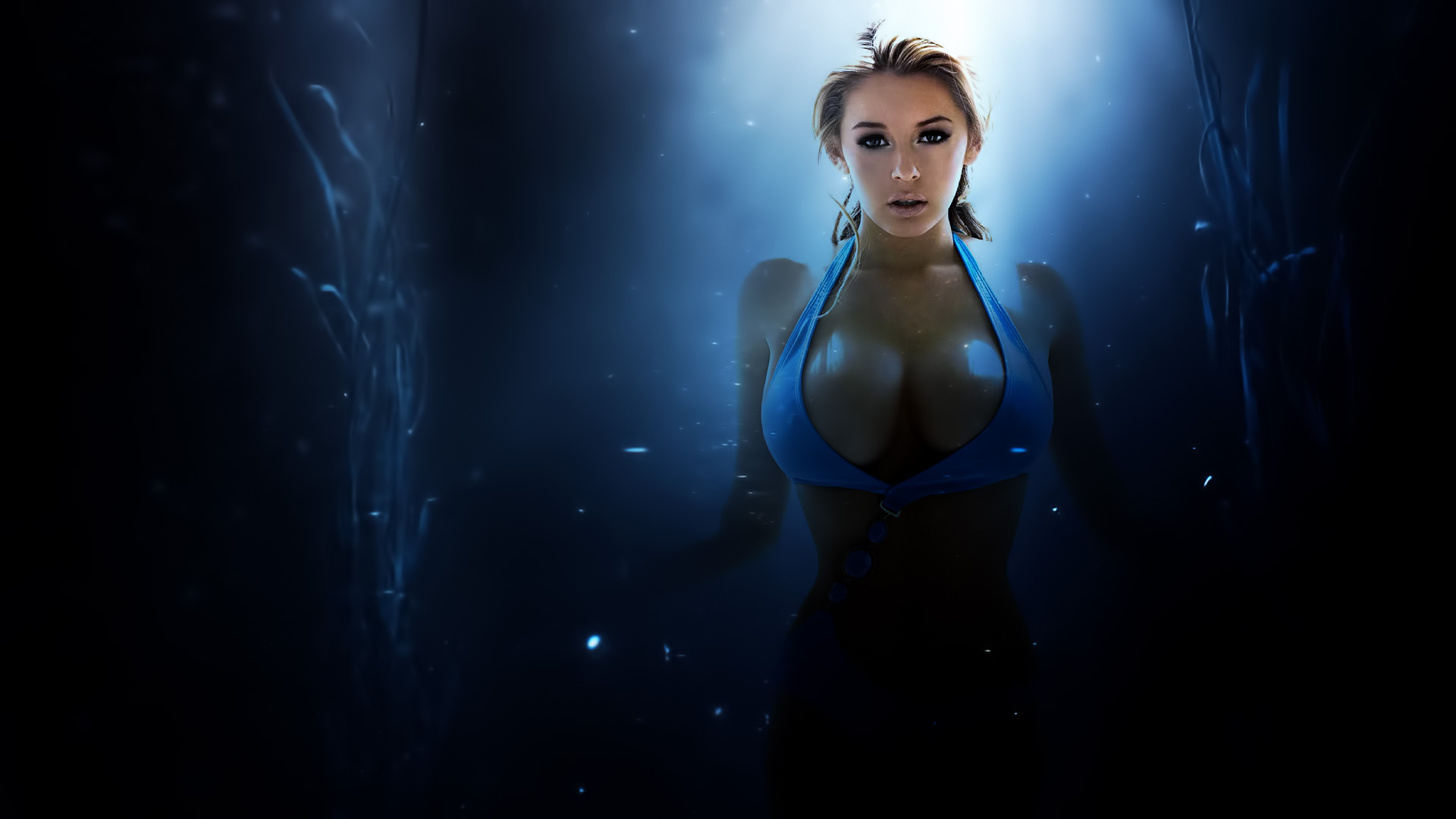 Ghostly Keeley Hazell Wallpaper by iamsointense on deviantART