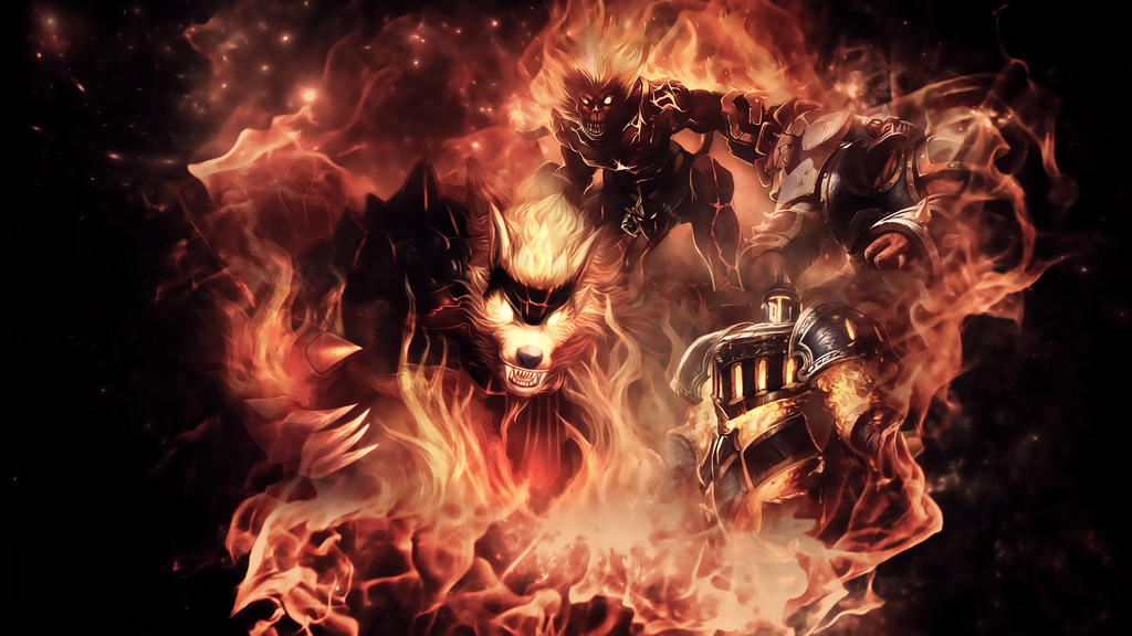 League Of Legends : Infernal Wallpaper by iamsointense