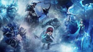 League Of Legends : Frozen Wallpaper by iamsointense