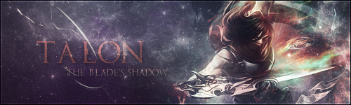 League Of Legends : Talon Signature by iamsointense