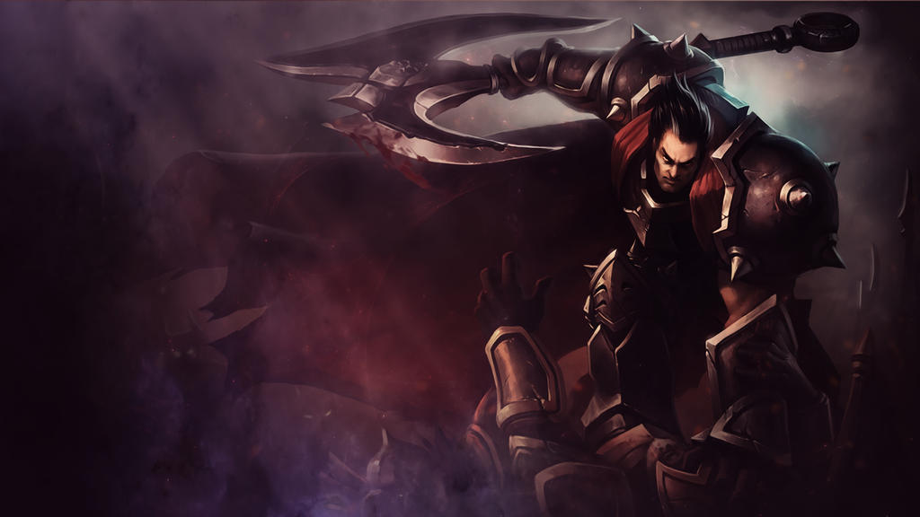 League Of Legends : Darius Wallpaper by iamsointense