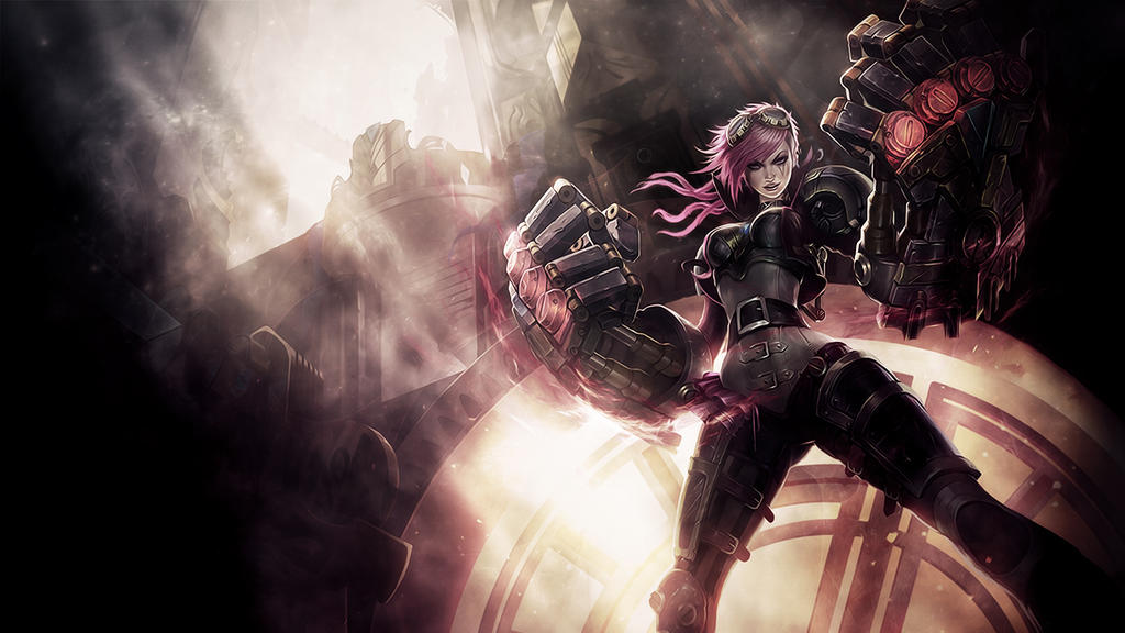League Of Legends : Vi Wallpaper by iamsointense