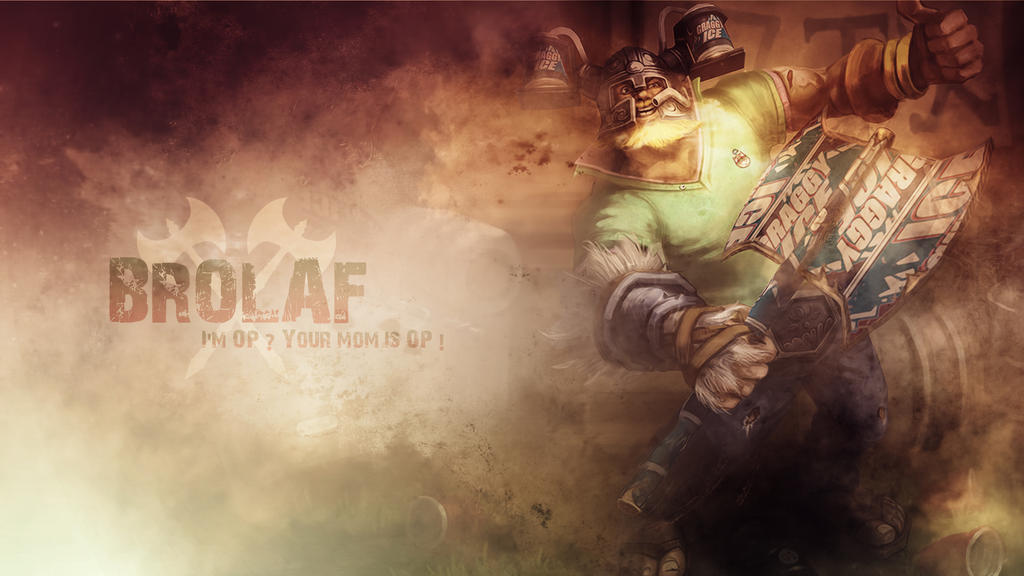 League Of Legends : Brolaf Wallpaper by iamsointense