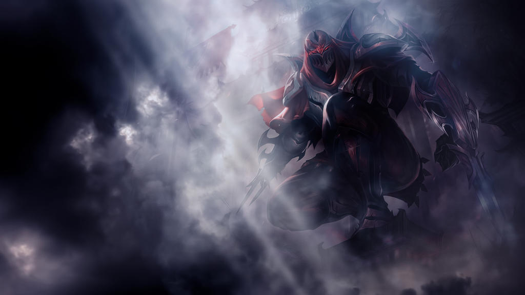 League Of Legends : Zed Wallpaper by iamsointense