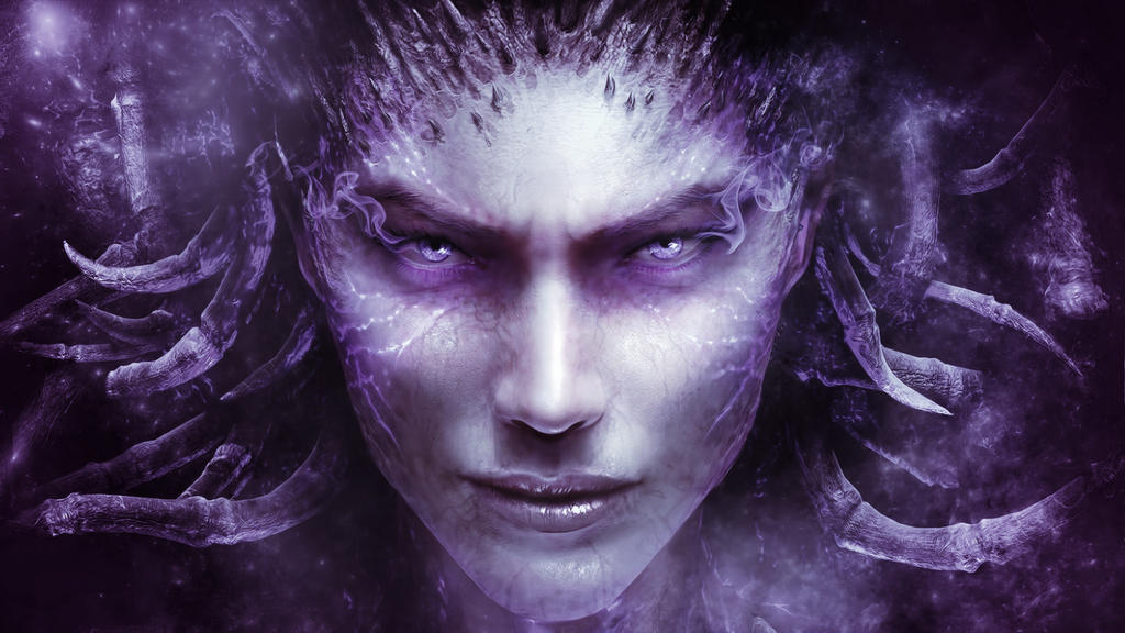 Heart Of The Swarm : Kerrigan Wallpaper by iamsointense