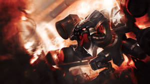 League Of Legends : BattleCast Cho Gath Wallpaper