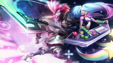 League Of Legends : Arcade Wallpaper
